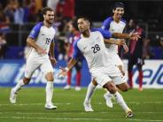 Beißattacken im Viertelfinale: Gold Cup: USA stehen nach 2:0 über Costa Rica im Finale
