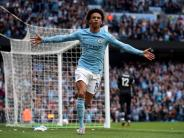 Premier League: Sané bei Man City gefeiert - Klopp nach Zittersieg froh