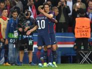 Champions League: Pleite in Paris: Neymar-Express überrollt Bayern