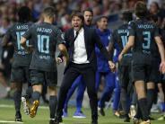 «Lektion» für Atlético: Chelsea hat «genug Feuerkraft» ohne Costa