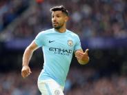 Premier-League-Star: Man-City-Stürmer Agüero bei Unfall verletzt