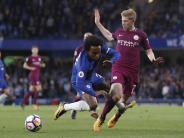 Premier League: Man City gewinnt Topspiel - Man United und Spurs siegen klar