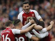 Premier League: Arsenal siegt ohne Özil 2:0 gegen Brighton & Hove Albion