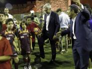 Assist for Peace: Ancelotti trainiert für Friedensprojekt Kinder inJerusalem