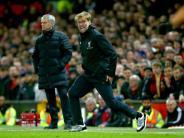 Premier-League-Kracher: Klopp vs. Mourinho: FC Liverpool empfängt Manchester United