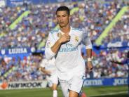 Barça rettet Punkt: «Fluch» beendet: Ronaldo schießt Real zum Rekord