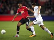 United ohne Mühe weiter: Manchester City und Arsenal im Ligapokal nur mit Mühe weiter