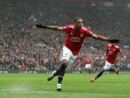 Premier League: Manchester United schlägt Tottenham im Spitzenspiel 1:0