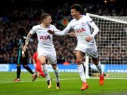 Auch Liverpool auf Kurs: Tottenham nach Sieg über Real im Achtelfinale