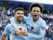 Premier League: Spitzenreiter Manchester City schlägt Arsenal mit 3:1