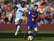 Primera División: Keine Siege für Barca und Real - Valencia verliert