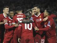 Achtelfinale komplett: Klopp feiert mit Liverpool Kantersieg gegen Moskau
