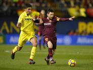 Primera Division: FCBarcelona behauptet Vorsprung - 2:0-Sieg in Villarreal