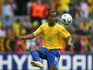 Karriereende: Ronaldinho tanzt nur noch am Strand