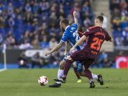 Atletico verliert: Spanischer Pokal: Barca verliert beim Stadtrivalen Espanyol