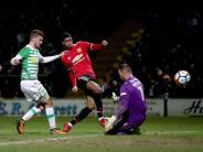 4:0 gegen Yeovil Town: Manchester United im Achtelfinale des FA-Cups