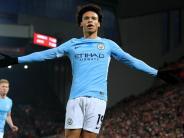 Nationalspieler: Leroy Sané fehlt Manchester City bis zu sieben Wochen