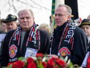 Vor 60 Jahren: Gedenken an Man-United-Flugzeugunglück in München