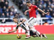 Premier League: Manchester United verliert überraschend 0:1 in Newcastle