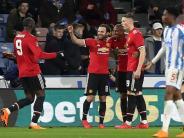 FACup: Man United im Viertelfinale - Tottenham muss nachsitzen