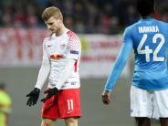 Europa League: RB Leipzig ist trotz Niederlage gegen Neapel weiter