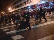 Vor Europa-League-Spiel: Polizist stirbt nach Krawallen in Bilbao