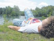 Thannhausen: Ein See fürs süße Nichtstun
