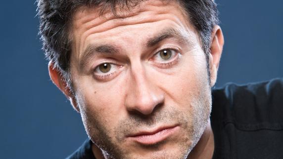 Der Kabarettist Rolf Miller