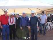 Bolivien/Balzhausen: Balzhauser trifft Präsident