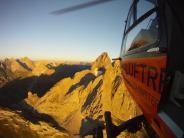 Lechtaler Alpen: Wie durch ein Wunder: Bergsteiger überlebt 200-Meter-Sturz