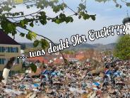 """Protest: Bürger wehren sich gegen """"Müllhalde"""" vor ihrer Tür"""