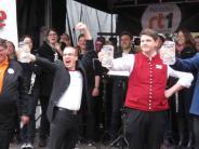 Krumbach: Maßkrugstemmen und Berliner Gastspiel