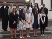 Krumbach: Der neue evangelische Pfarrer kam zur Konfirmation