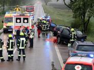 Günzburg: Drei Verletzte bei Unfall - 83-Jährige schwebt in Lebensgefahr