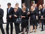 Trauerfeier für Mindelheimer Unternehmer: Sogar Flugzeuge erweisen Burkhart Grob die letzte Ehre