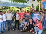 Landkreis Günzburg: Flüchtlingsprojekt: Drachensteigen in der Innenstadt