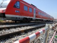 Kreis Günzburg: Bahnstrecke Ulm - Augsburg wird in Sommerferien teilweise gesperrt
