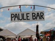 Feierlichkeiten: Ein neues Feuerwehrfahrzeug beim Paule-Bar-Geburtstag