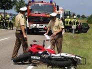 Dirlewang: 28-jähriger Motorradfahrer tödlich verunglückt