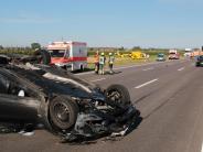 Günzburg: Rücksichtslose Fahrer auf der A8 hindern Helfer am Helfen