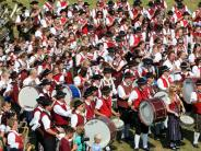 Bildergalerie: Großes Finale beim Krumbacher Bezirksmusikfest