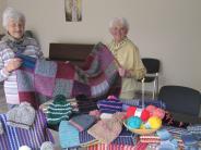 Krumbach: Krumbacher Gruppe strickt gegen die Kälte