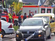 Wattenweiler: Aus Unachtsamkeit Auffahrunfall verursacht