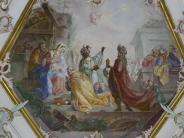 Das Fuggerschloss in Markt Wald: Mit den Heiligen Drei Königen unter einer Decke