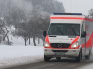 Krumbach: Zusammenstoß mit Rettungswagen