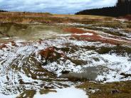 Balzhausen: Hier laden bald 80 Laster täglich Lehm ab