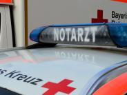 Kreis Günzburg: Mann bei Betriebsunfall in Waldstetten schwer verletzt