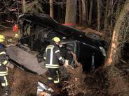 Kreis Günzburg: Zwei Unfälle mit schweren Folgen