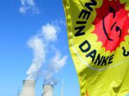 Gundremmingen: Erörterung zu AKW: Demo draußen, Diskussion drinnen