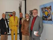Zaiertshofen: Vier Künstler präsentieren ihre Werke
